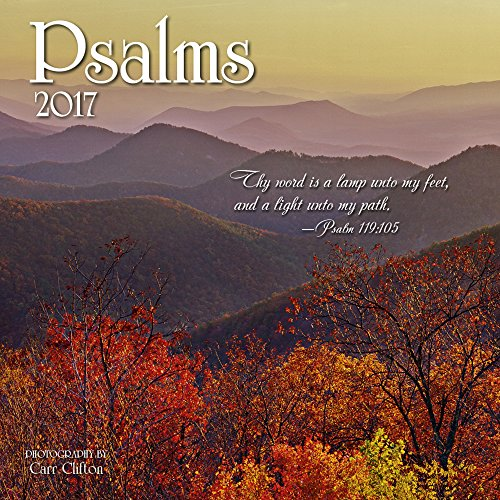Psalms Mini Wall Calendar 2017