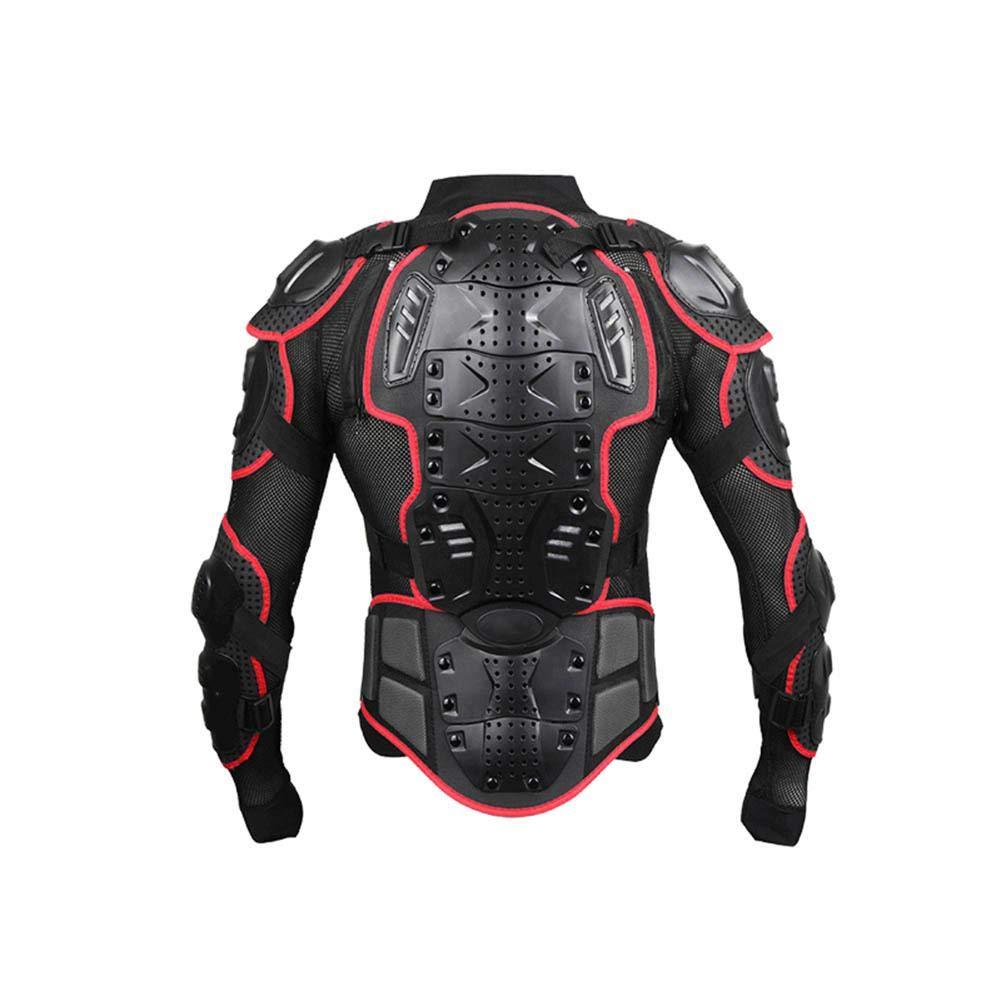 Motocicleta Todoterreno protecci/ón de Pecho Protector de Cuerpo Completo para Motocicleta Transpirable Resistente al Desgaste Flexible FOONEE Cintura Puede ser Activa