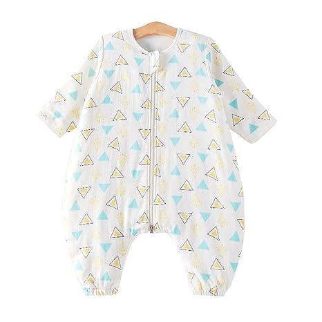 chils uessy Saco de dormir con pies de bebé de 100% algodón chica joven Niños