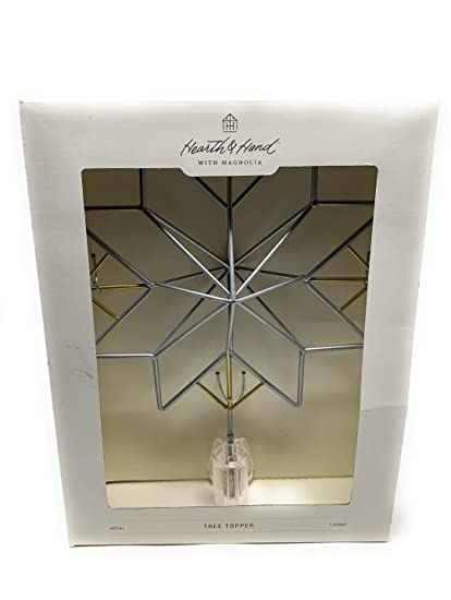 Amazoncom Hearth Hand With Magnolia Tree Topper Star With Clip