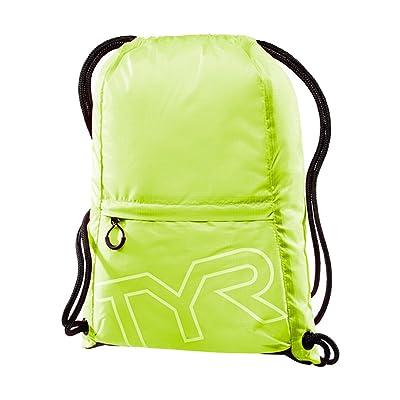 TYR Drawstring Sack Pack: Fluorescent Yellow