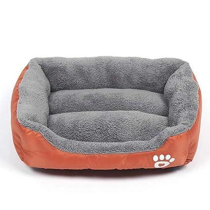 ZDY Deluxe Suave Cálida Cama De Mascotas,Lavable Cesta De Cama para Mascotas para Perro