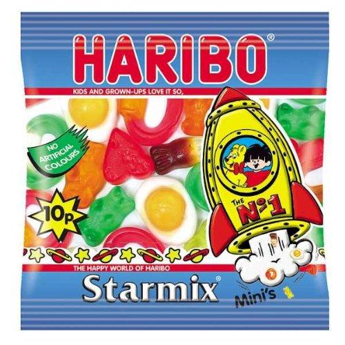 Haribo Starmix Jelly Sweets Mini Bags