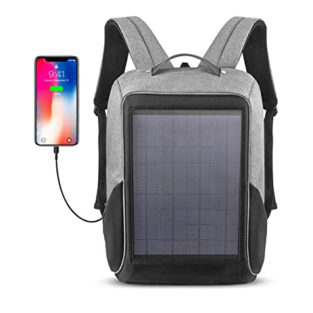 WishY Bolsa de Viaje Cargador Solar Mochilas(10W) Portátil Paneles ...
