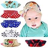 Baby Girl Multicolor Hair Hoops Headbands,Solid