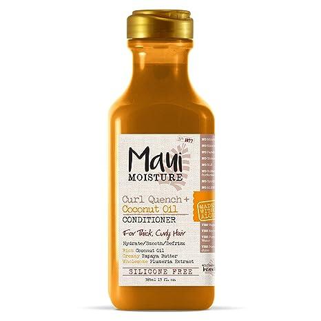 Maui Moisture Curl Quench + Coconut Oil Curl-Defining Anti-Frizz Conditioner