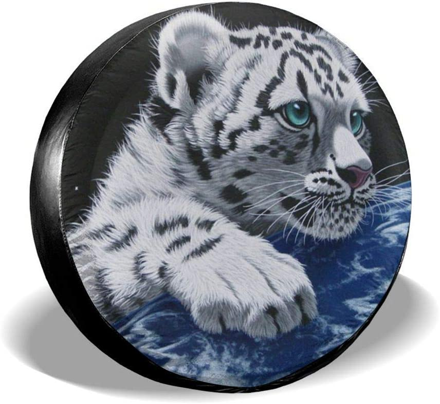 Custom Spare Tire Cover Bass Fishing Wave Dustproof Wheel Tire Protector for Jeep,Trailer RV SUV Truck Camper Travel Trailer Accessories