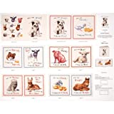 Elizabeth Studios Animal Friends Soft Book Panel