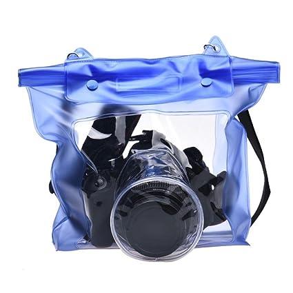 Xinantime Funda de Cámara,Xinan Caso Cámaras Digitales DSLR Bolsa Impermeable para Canon Sony (Azul)