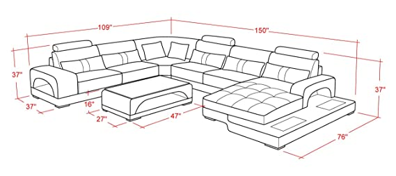 Astounding Amazon Com Connie Sectional Sofa Set In Black White With Cjindustries Chair Design For Home Cjindustriesco