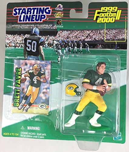 1999 KENNER STARTING LINEUP NFL BRETT FAVRE GREEN BAY PACKERS SEALED IN PACKAGE (Brett Favre Figurine)