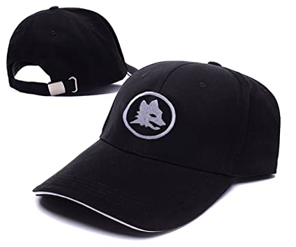 6177fbc21e12f Image Unavailable. Image not available for. Color  ZZZB AS Roma Logo  Adjustable Baseball Caps ...