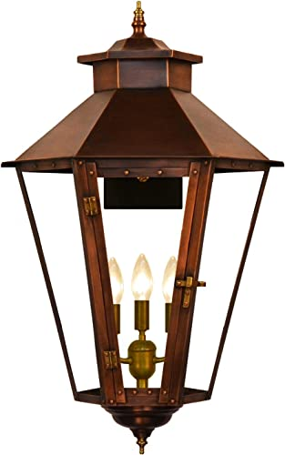 The CopperSmith Bayou Street 20 2 Lite Electric Lantern BS61-Elec