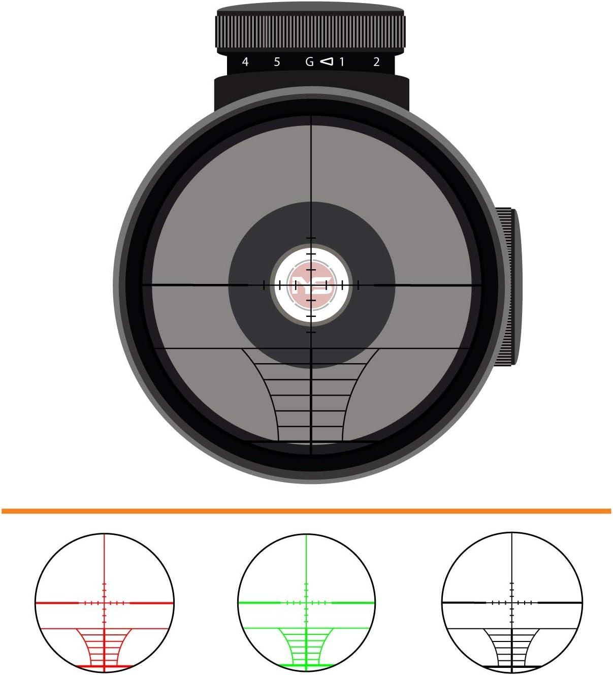 Votre Sights 3-9x40 Lunette de vis/ée avec tactique Rails compatible avec queue daronde et TISSERIN rails