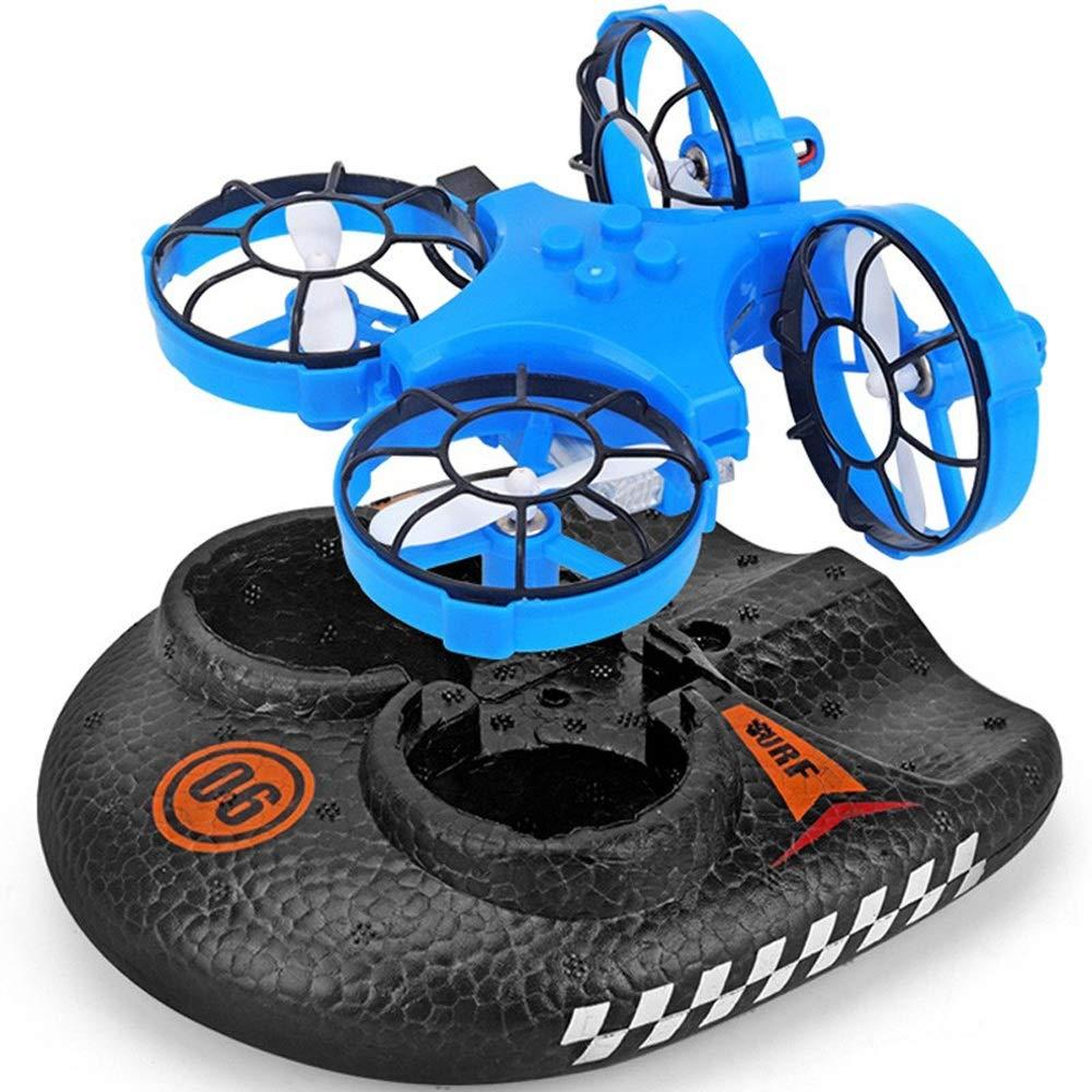 Gxscy Mini Drone Tierra Agua y Aire de Tres-en-uno aerodeslizador ...