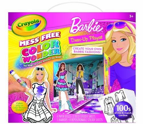 Crayola Color Wonder Barbie Fashion Doll