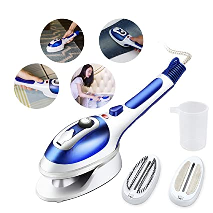 Multifunction Mini Portable Electric Steam Iron For Clothes Blue Kitchen & Home Irons
