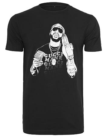 d2a88e98eb2 MERCHCODE Men s Gucci Mane Money Tee T-Shirt  Amazon.co.uk  Sports    Outdoors