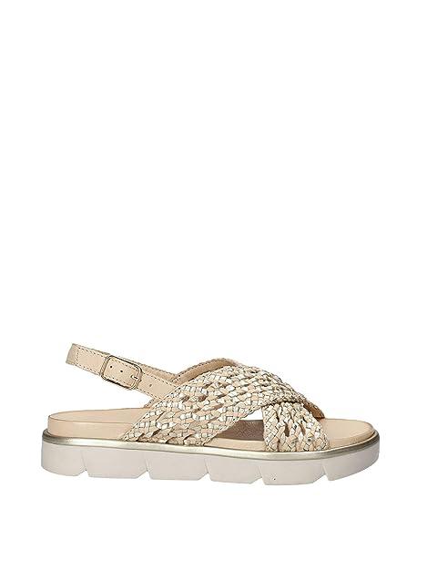 Zeppa E Beige Donna Borse 37Amazon Inuovo 111002 itScarpe Sandalo TclFK13J