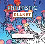 Fantastic Planet: A Coloring Book of Amazing Places Real and Imagined (Coloring Book for Everyone, Planet Coloring Book) by Steve McDonald