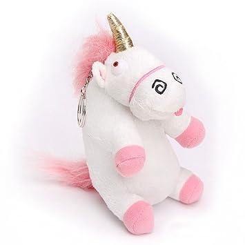 eHenZ® TM Llavero Unicornio 15 cm Plush 3D: Amazon.es ...
