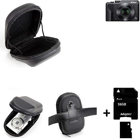 K-S-Trade® Para Nikon Coolpix A1000: Caso Duro, Estuche para ...