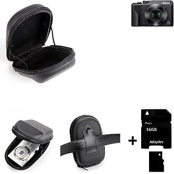 K-S-Trade para Nikon Coolpix A1000: Caso Duro, Estuche para ...