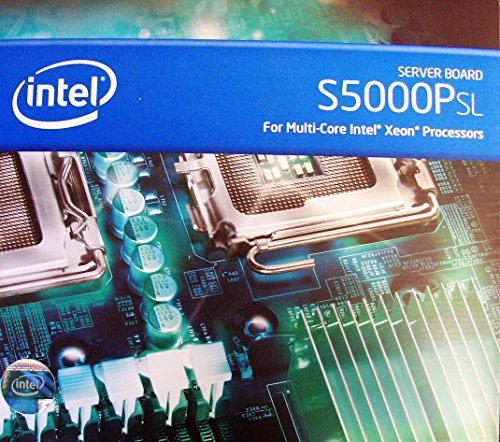 Dual Xeon Server Board - Intel Xeon Dual core Support, SAS, Dual LGA 771, motherboard - S5000PSLSASR