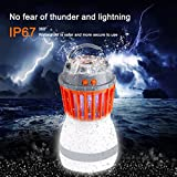 Yeefant Convenient Energy-saving UV LED Electric Charging Fly Insect Bug Pest Mosquito Trap Drive Away Night Double Use Lamp