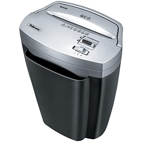 Fellowes Powershred W-11C 11 Sheet Paper and Credit Card Cross-Cut Shredder