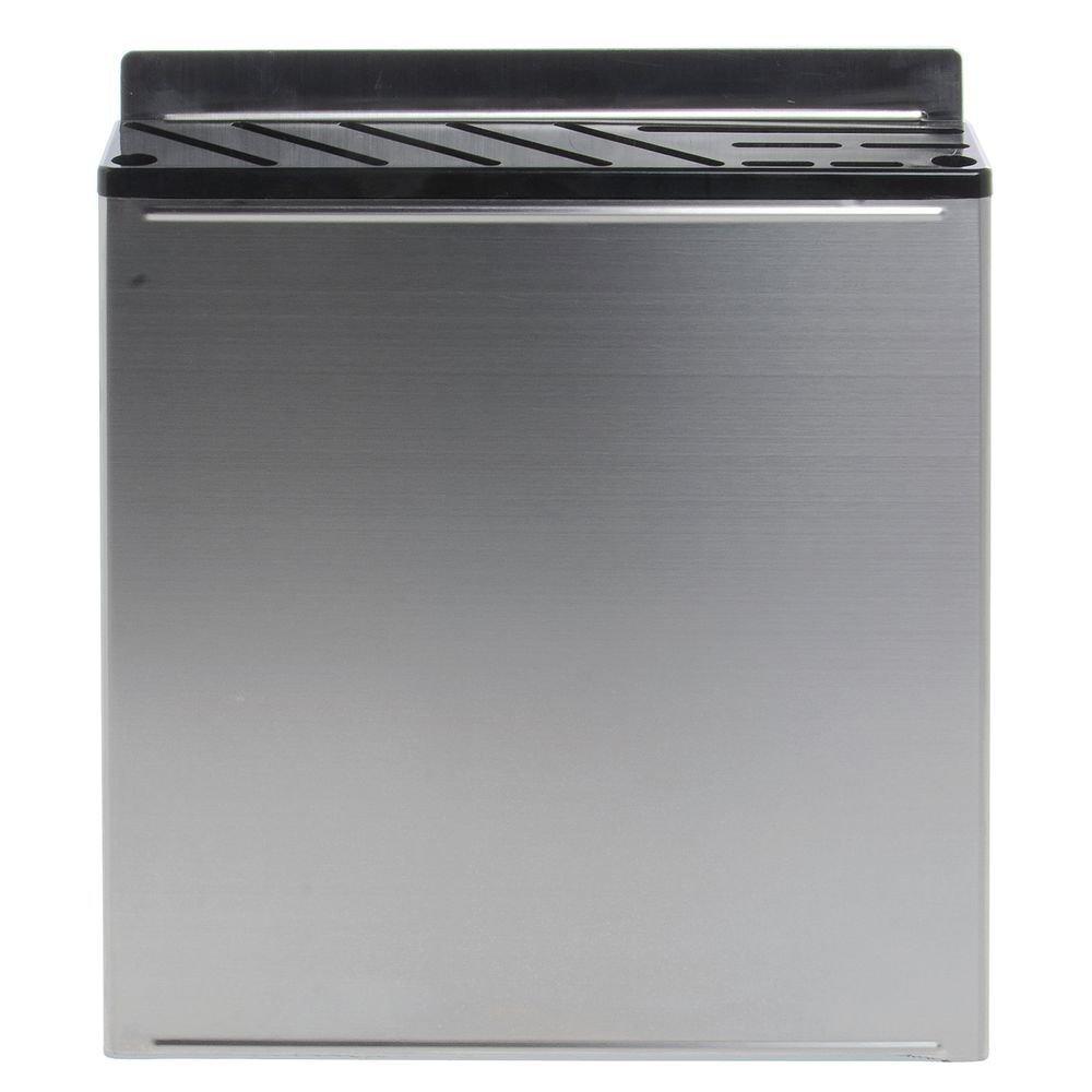 HUBERT Knife Rack Large Sanitary Stainless Steel - 11 3/4 W x 2 3/4 D x 13 1/2 H