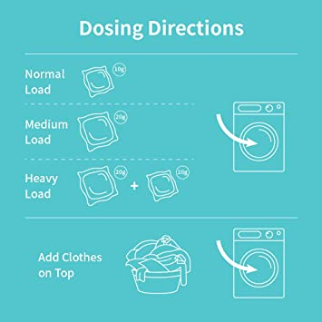 BABYPEACH 3 en 1 cápsulas de detergente natural para ...