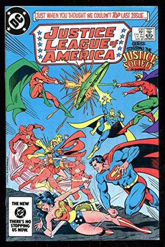 JUSTICE LEAGUE OF AMERICA #232, VF/NM, Wonder Woman, Flash, Superman, DC 1984