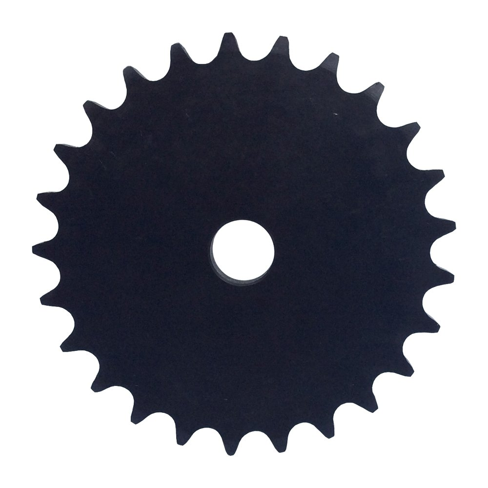 KOVPT # 40 Chain A-Plate Sprocket 26 Tooth Bore Dia 5/8' Pitch 0.5' OD 4.42' Carbon Steel 1Pcs KANZNAN