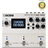 Boss DD-500 Digital Delay Pedal with 1 Year Free Extended Warranty