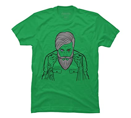 040a80885633 power of style Men's Small Kelly Green Graphic T Shirt - Design By Humans