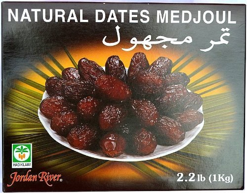 Price comparison product image Jordan River Natural Dates Medjoul - 1kg