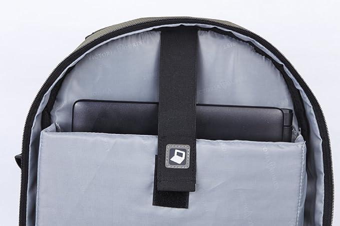 ef1c1bf2bb58 Victoriatourist V8001 Laptop Backpack College Bookbag Business Travel Bag  Hiking Nylon Rucksack for Men Women Fits MacBook Air, (Green 8001)