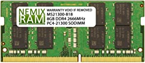 Dell Compatible SNPHYXPXC/8G A9206671 NEMIX RAM Memory for Inspiron Laptops