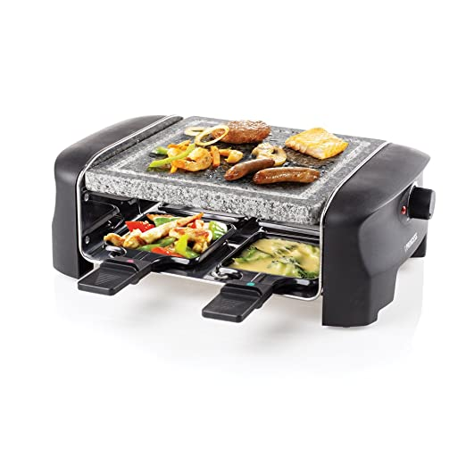 Princess 162810 Stone Grill Party - Raclette y parrilla para 4 ...