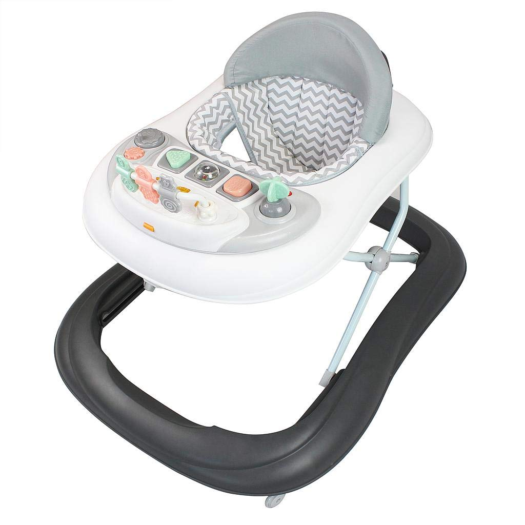 Sotech Baby Activity Center Material: PP Baby Walker Altersgruppe: 6 bis 18 Monaten Graues Muster mit Spielzeug