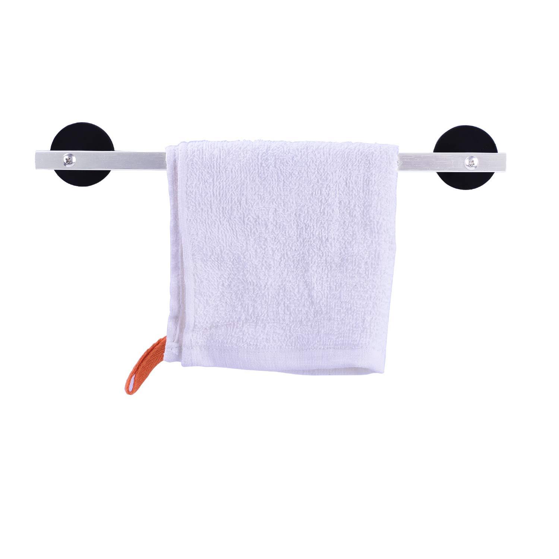 LEVOSHUA Magnetic Towel Bar Towel Rack Dish Towel Holder Dish Cloth Hook Hanger for Refrigerator, Stove, Oven, Dishwasher, Kitchen Sink, Washing Machine 11.8 Inch Thick
