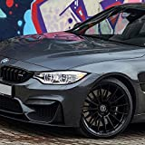 "20"" HRE Wheels FF15 Flow Form Tarmac Concave Rims Only Set Of 4 Includes Vibe Motorsports License Plate Frames Fits Bmw F01 740 750 760"