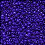 Toho Round Seed Beads 11/0 #48 'Opaque Navy Blue' 8 Gram Tube
