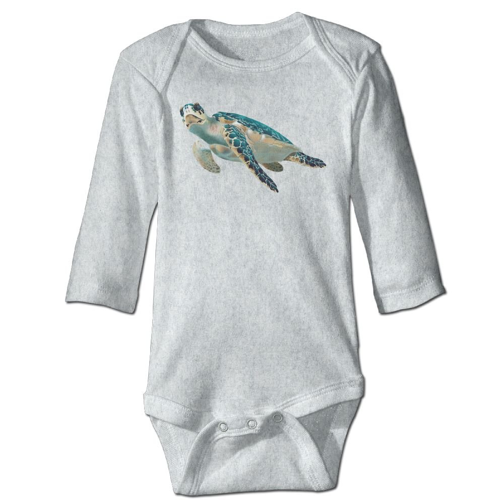 Sea Turtle Baby Rompers One Piece Jumpsuits Summer Outfits Clothes White