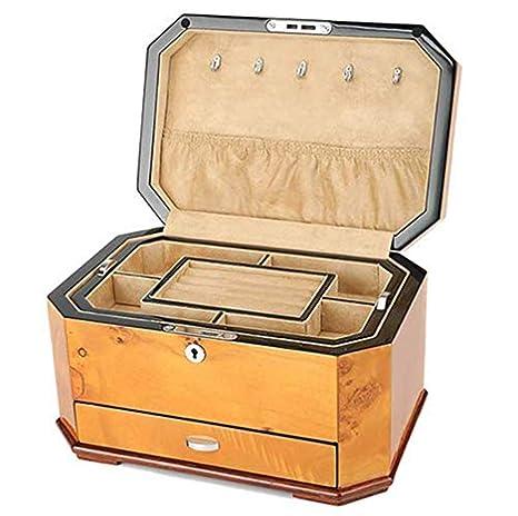 Cajas Para Joyas Cofres Para Joyas Organizador Joyería De Almacenamiento De Pintura De Piano Caja De