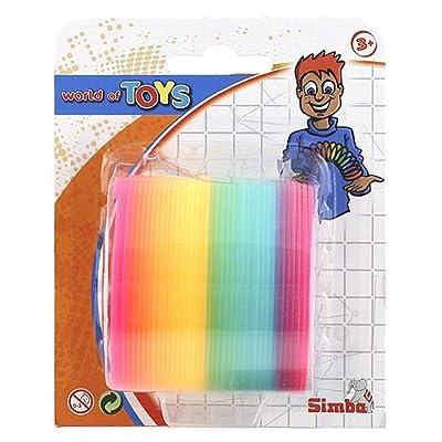 Simba 108616295 - Muelle saltarín de colores, 6 cm [Importado de Alemania]: Juguetes y juegos