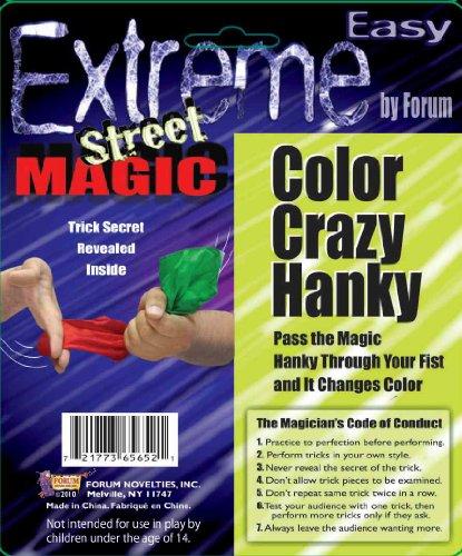 Forum Novelties Extreme Street Magic - Color Crazy (Halloween Magic Tricks Revealed)