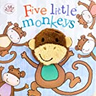 Five Little Monkeys Finger Puppet Book (Little Learners)