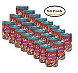 PACK OF 24 - Purina ALPO Prime Cuts Beef, Bacon & Cheese in Gravy Dog Food 13.2 oz. Can